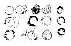 Marcas del formato del vector de los vidrios y de las botellas Fotos de archivo