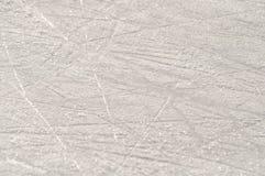 Marcas del patín en el hielo foto de archivo libre de regalías