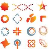 Marcas y símbolos de la insignia ilustración del vector