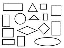 Marcas y sellos del franqueo ilustración del vector