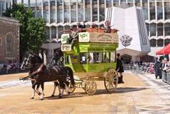 Marcatura del carrello alla sede di corporazione Londra Fotografia Stock Libera da Diritti