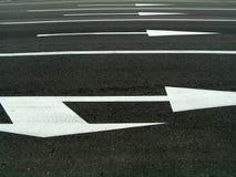 Marcatura di strada Fotografia Stock Libera da Diritti