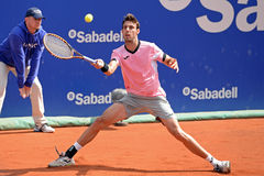 Marcel Granollers (Spanish tennis player) plays at the ATP Barcelona Stock Photos