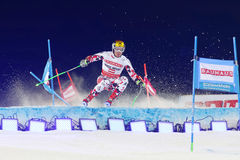 Free Marcel Hirscher Skiing At A Slalom Event Stock Photos - 67744633
