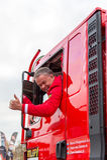 Marcel Huigevoort στο φορτηγό του Ντακάρ του Στοκ Φωτογραφία