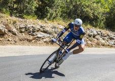 Marcel Kittel, Individual Time Trial - Tour de France 2016. Col du Serre de Tourre,France - July 15,2016: The German cyclist Marcel Kittel of Etixx-Quick Step Royalty Free Stock Photos