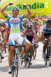 MARCEL KITTEL wins. MARCEL KITTEL winner of first stage of Tour de Pologne - Pruszkow to Warsaw Stock Photos
