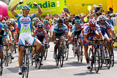 MARCEL KITTEL wins Tour de Pologne first stage Royalty Free Stock Images