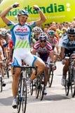 MARCEL KITTEL wint Stock Foto's