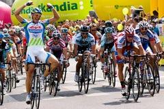 MARCEL KITTEL wint Tour DE Pologne eerste stadium Royalty-vrije Stock Afbeeldingen