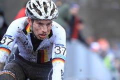 Marcel Meisen - cyclo cross Stock Image