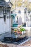 Marcel Proust Tomb arkivfoto
