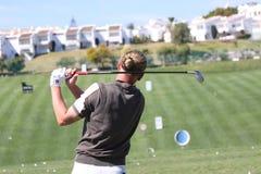 Marcel Siem au golf d'Andalousie ouvert, Marbella photo stock