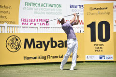 Marcel Siem, Maybank Championship 2017 Royalty Free Stock Image