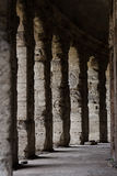 Античные столбцы театра Marcello, Рима Стоковое фото RF