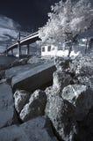 Marcelo-Brücke in IR Stockbilder