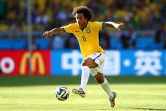 Marcelo Coupe du Monde 2014 Royalty Free Stock Images