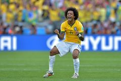 Marcelo Coupe du Monde 2014 Stock Photo