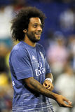 Marcelo Vieira of Real Madrid. Before a Spanish League match against RCD Espanyol at the RCDE Stadium on September 18 2016 in Barcelona Spain Stock Photos