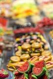 Marcepanów i cukierki kram Zdjęcie Stock