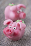 Marcepanowa świnia Zdjęcie Royalty Free