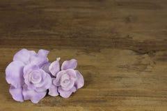 Marcepanowe róże Zdjęcie Royalty Free