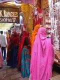 Marché à Jaipur, Inde image libre de droits