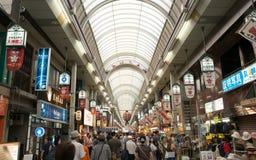 Marché à Osaka Photographie stock libre de droits