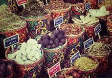 Marché égyptien d'épice photo stock