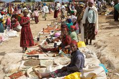 Marché africain photo stock