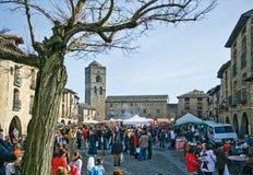 Marché Ainsa de truffe Images libres de droits