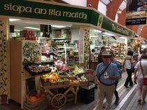 Marché anglais, un marché municipal de nourriture du centre du liège, attraction touristique célèbre de la ville photographie stock