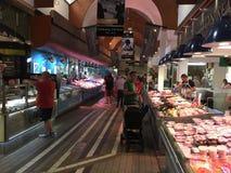 Marché anglais, un marché municipal de nourriture du centre du liège, attraction touristique célèbre de la ville : support rustiq images libres de droits