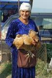 Marché aux bestiaux, Kabali, la Géorgie, l'Europe Photo stock