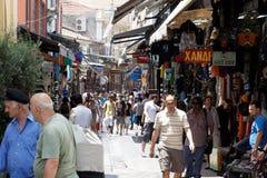Marché aux puces à Athènes Photo libre de droits