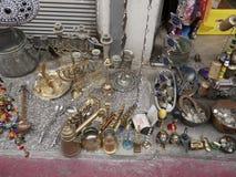 Marché aux puces du ` s de Jaffa Images libres de droits