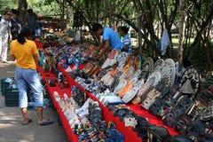 Marché chez Coba. Le Mexique Photographie stock libre de droits