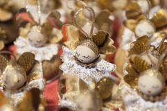 Marché coloré de Noël à Budapest Images stock