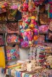 Marché coloré Mexique de souvenirs Images libres de droits