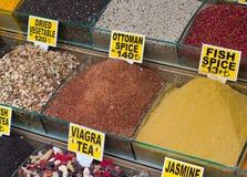 Marché d'épice à Istanbul images libres de droits