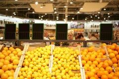 Marché d'épicerie Photo stock
