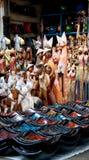 Marché d'art traditionnel d'Ubud Images stock