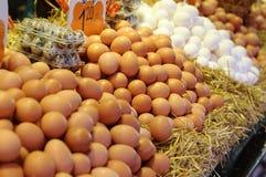 marché d'oeufs Photographie stock