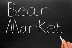 Marché d'ours d'écriture. Images libres de droits