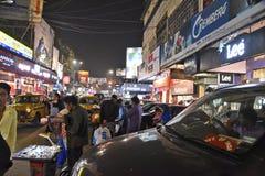Marché dans Kolkata Photo libre de droits