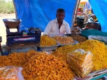 Marché dans l'Inde images stock