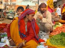 Marché dans l'Inde photo stock