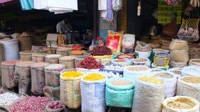 Marché dans l'Inde photos stock