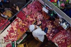 Marché dans le sucre, Bolivie Image libre de droits