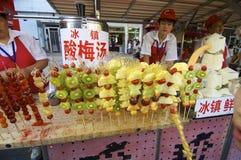 Marché dans Pékin Images stock